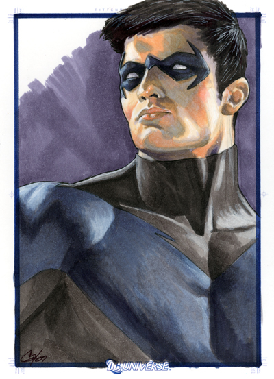 DC Legacy: Nightwing by gattadonna