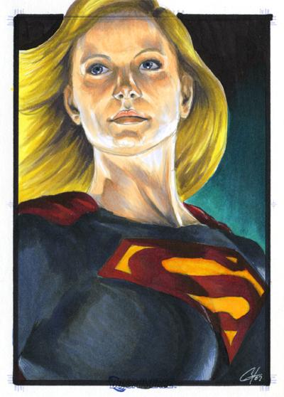 DC Legacy: Supergirl by gattadonna