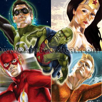 DC Legends VS: Telepathic Link by gattadonna