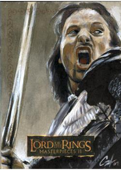 LOTR MPII: Aragorn by gattadonna