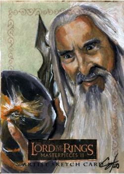 LOTR MPII: Saruman II by gattadonna
