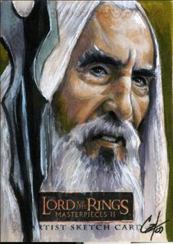 LOTR MPII: Saruman I by gattadonna