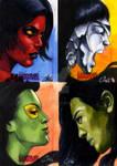 Women Of Marvel set 4