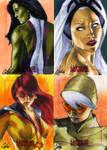 Women Of Marvel set 5