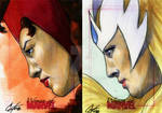 Women Of Marvel set 6