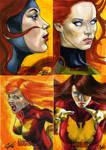 Women Of Marvel set 12