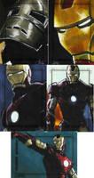 Iron Man The Movie set 6 by gattadonna