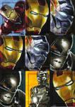 Iron Man The Movie set 4