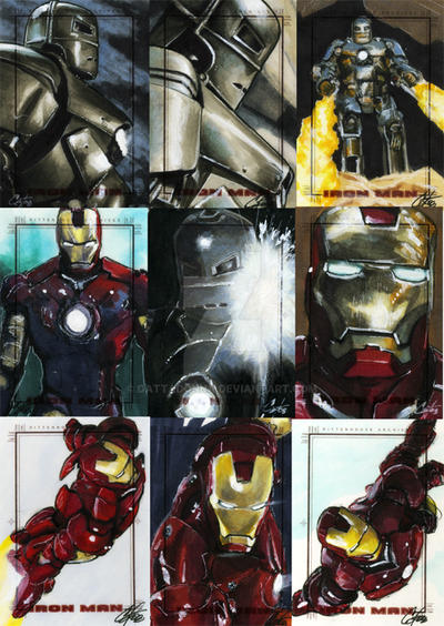 Iron Man The Movie set 2 by gattadonna on DeviantArt