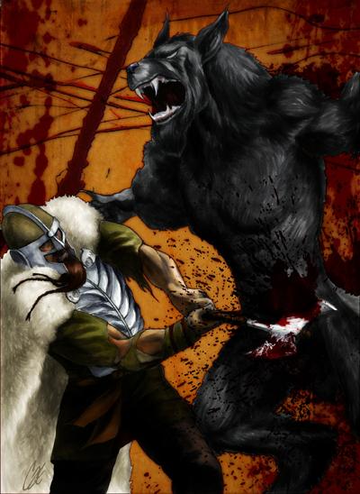 Wolves Of Odin by gattadonna
