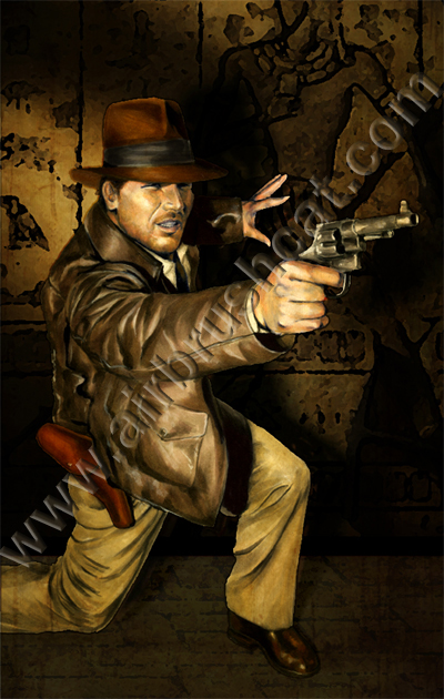 Indiana Jones Masterpieces by gattadonna