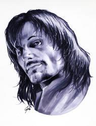 Aragorn LOTR by gattadonna