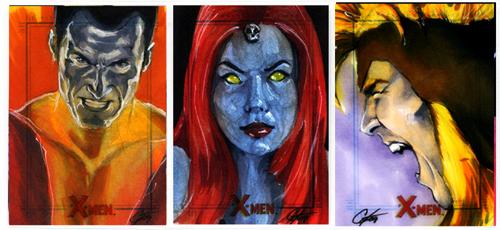 X-Men Archives Set 6 by gattadonna