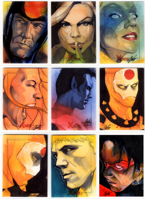 X-Men Archives Set 4 by gattadonna