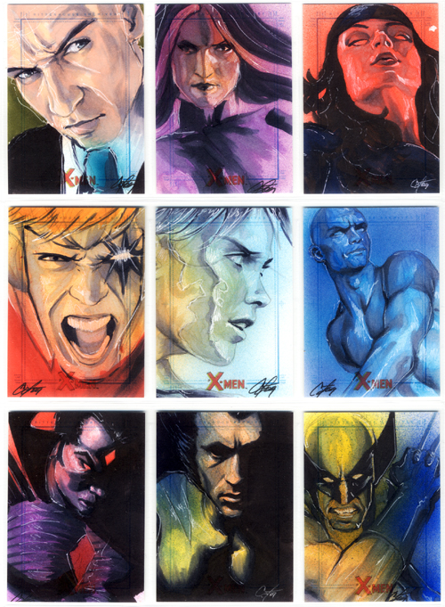 X-Men Archives Set 3 by gattadonna