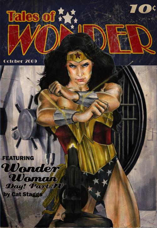 Wonder Woman Day 2009 bonus