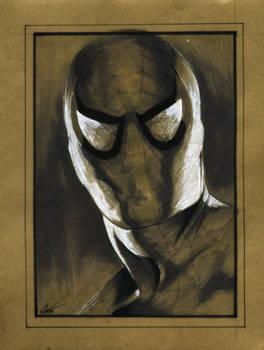 Spider-man:brown paper