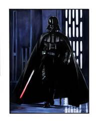 Darth Vader commission by gattadonna