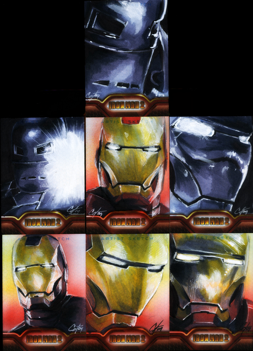 Iron Man II set 2 by gattadonna