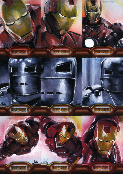 Iron Man II set 1 by gattadonna