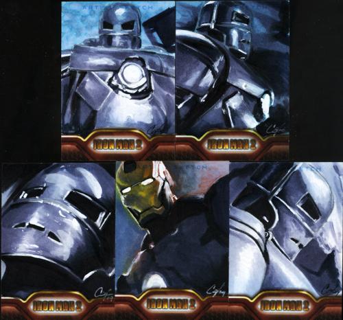 Iron Man II set 3 by gattadonna