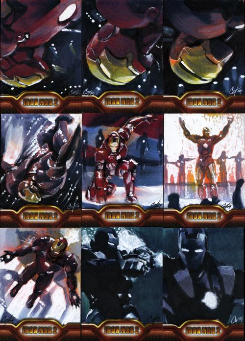 Iron Man II set 5 by gattadonna