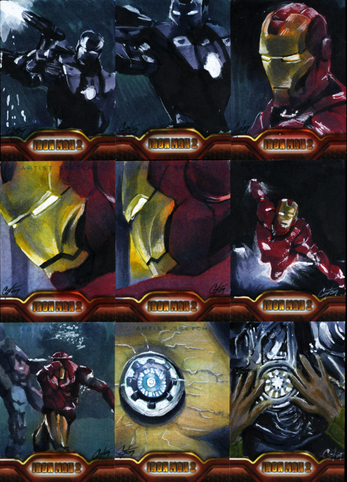 Iron Man II set 6 by gattadonna