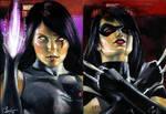 MMI Psylocke and X-23