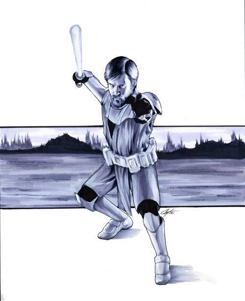 Obi Wan by gattadonna