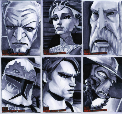 CW Rise Of The Bounty Hunters by gattadonna