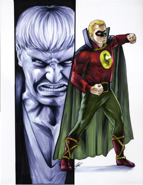 Green Lantern by gattadonna