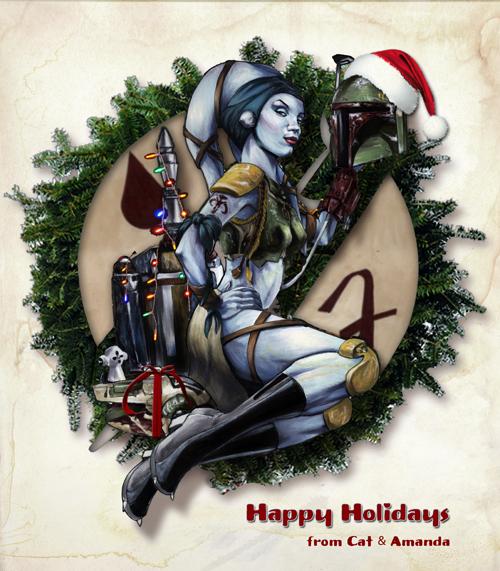 Happy Holidays by gattadonna