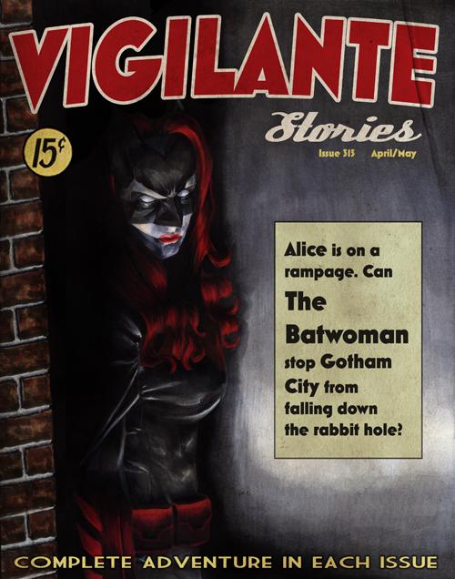 Vigilante Stories: Batwoman by gattadonna
