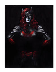 Batwoman II by gattadonna