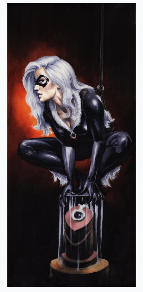 Black Cat:Pounce by gattadonna