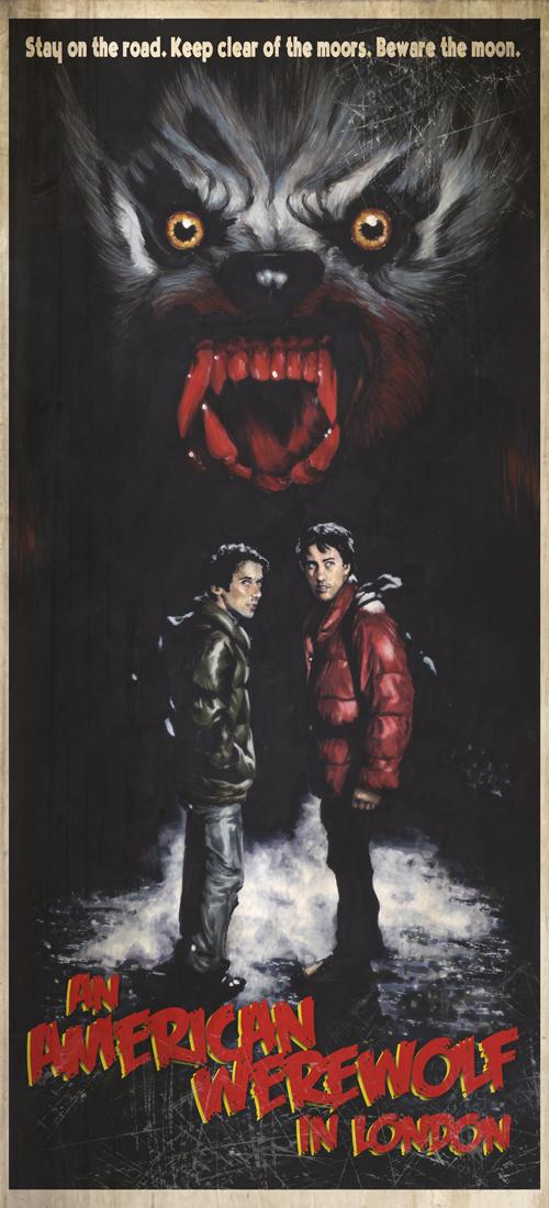 American Werewolf poster by gattadonna