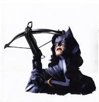 Vigilante Stories: Huntress orig by gattadonna