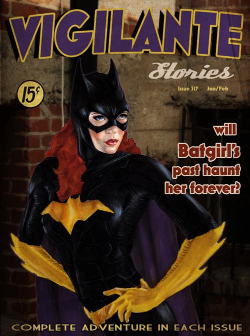 Vigilante Stories: Batgirl by gattadonna