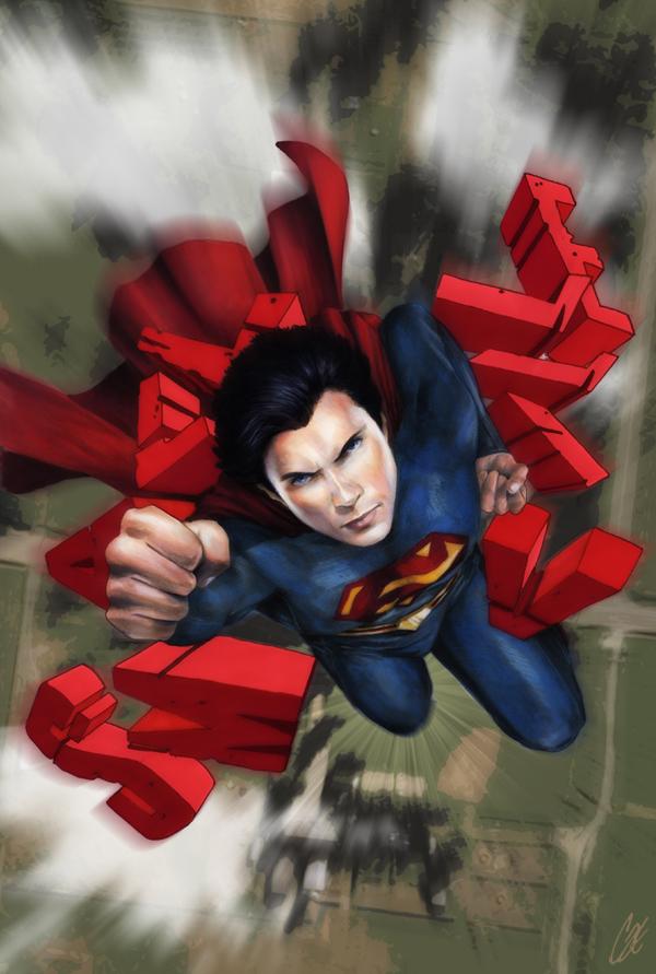 Smallville Season 11 Cover No 1 by gattadonna