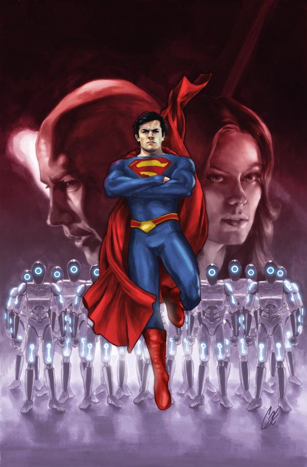 Smallville Season 11 Cover No 3 by gattadonna