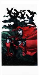 Heroes Con Auction 2012: Batwoman by gattadonna