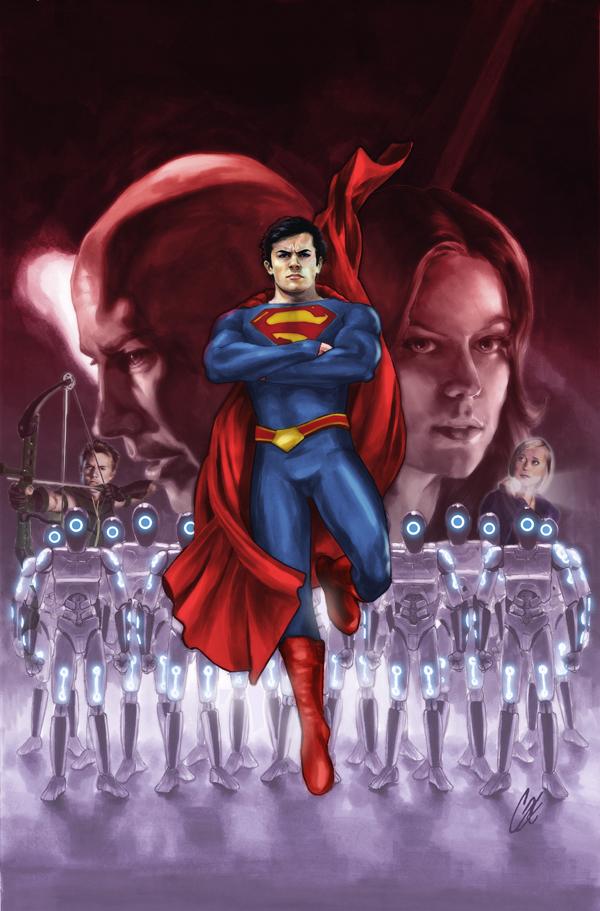 Smallville Season 11 Cover No 3 alt by gattadonna