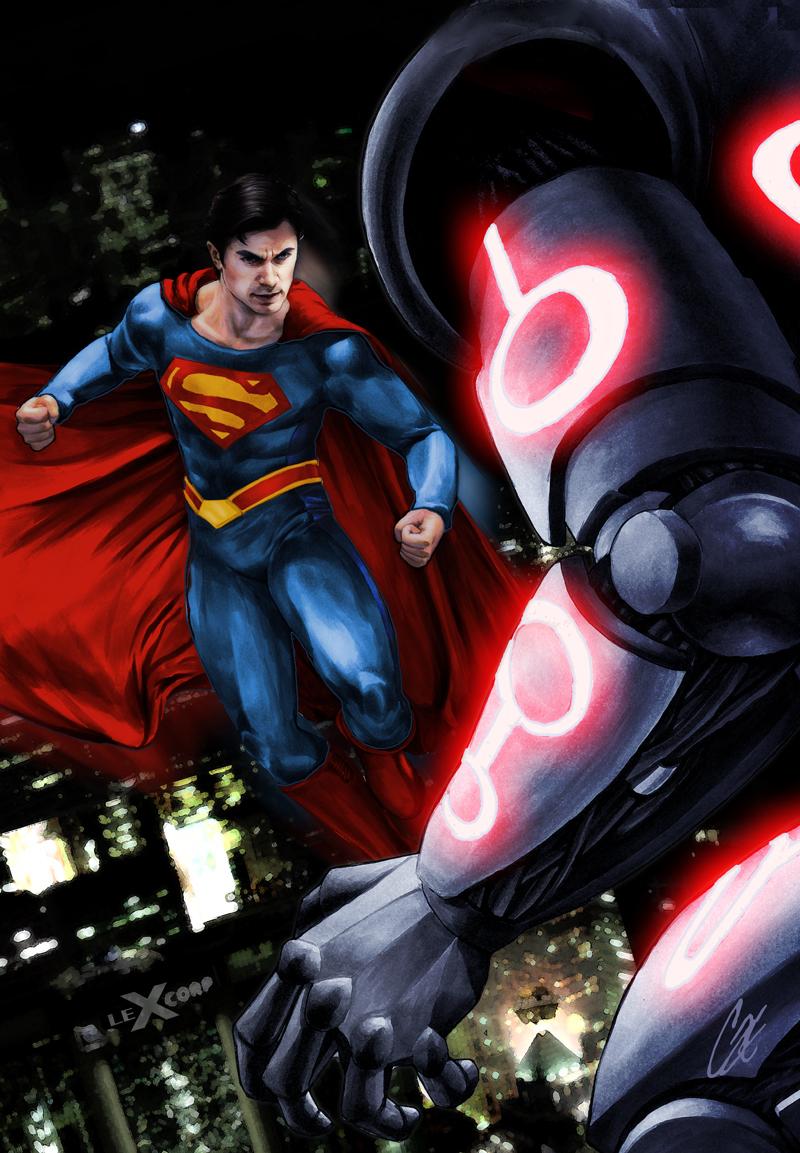 Smallville Season 11 Cover No 4 by gattadonna