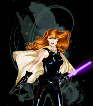 Mara Jade Shirt Design for Her Universe
