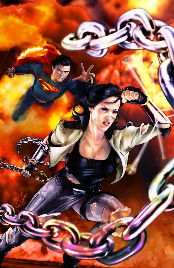 Smallville Season 11 Olympus #2 by gattadonna
