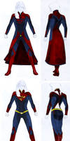 Smallville Season 11 Supergirl Costume Design