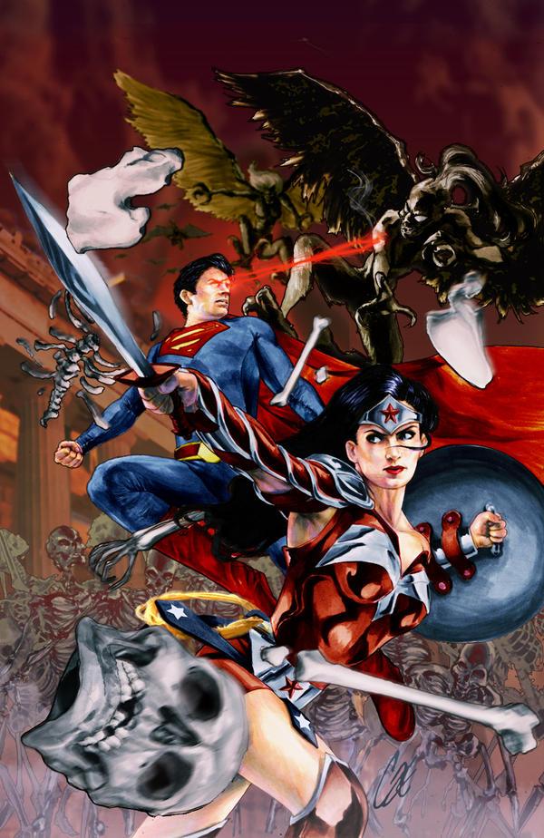 Smallville Season 11 Olympus #4 by gattadonna