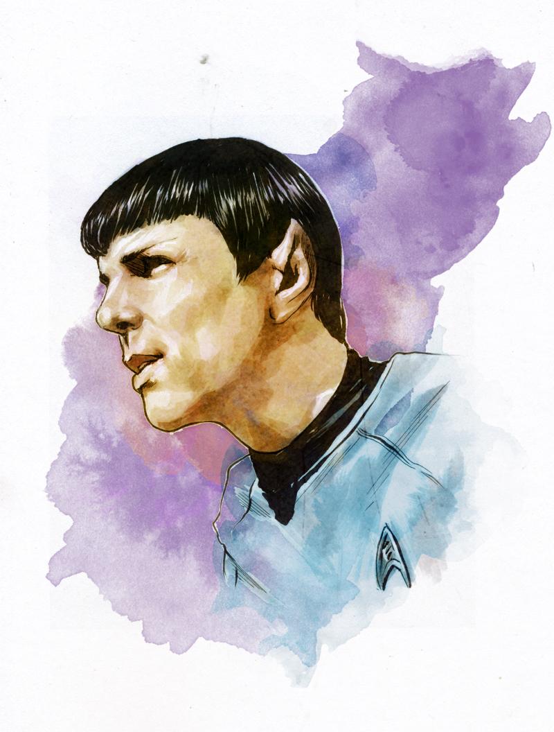 Spock by gattadonna