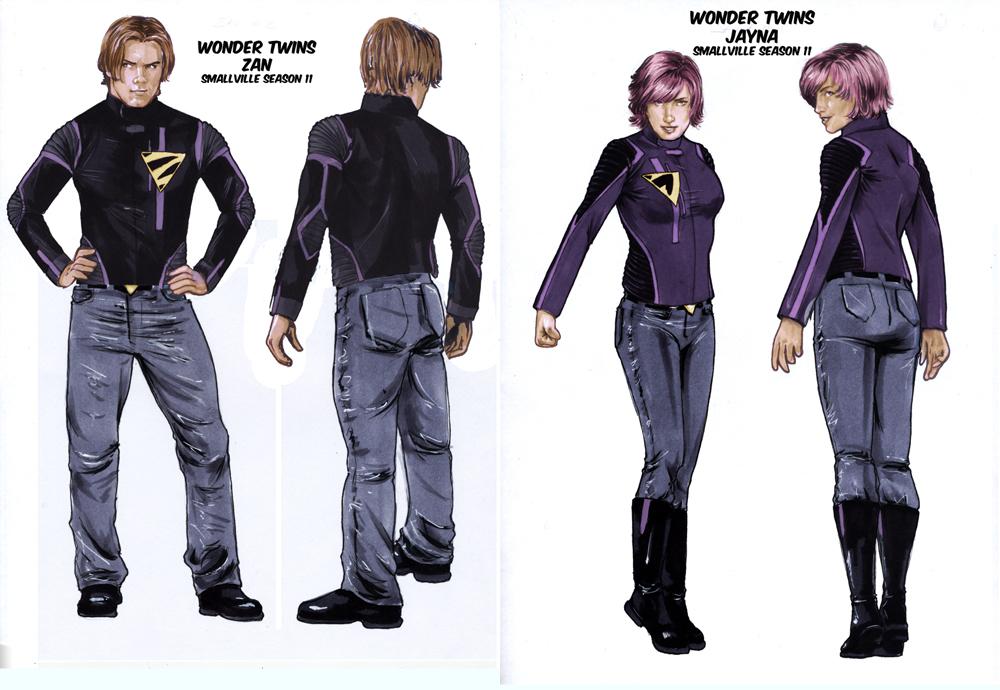 Smallville Titans Wonder Twins by gattadonnaYoung Justice Wonder Twins