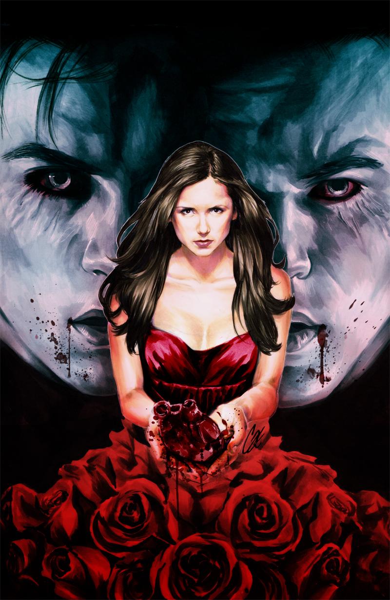 The Vampire Diaries #2 by gattadonna